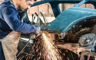 Il restauro della carrozzeria – parte 1